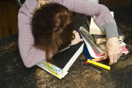 An essay on exam stress