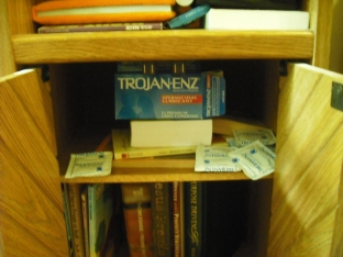 box of condoms