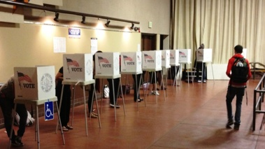 Fresno-State-polling-place
